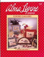"Alma Lynne Designs ""GOOSE GALLERY"" Counted Cross Stitch ALX-49"