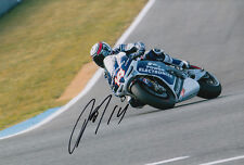 Randy De Puniet MotoGP Hand Signed Power Electronics Aspar ART Photo 12x8 2013
