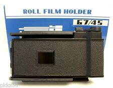 TOYO (TOYO-VIEW) 67 / 45 (6x7 / 45) FILM HOLDER / FILM BACK