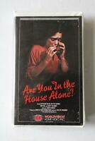 Are You In The House Alone? Horror Slasher Worldvision VHS Big Clamshell Box