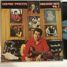 """Conway Twittys Greatest Hits Vol 1 EXc OZ Pressing MCA Label 12 """" LP Record"""