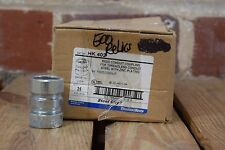 Box of 24 Steel City HK 402 Rigid Conduit Compression Coupling 3/4""