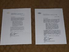 Beatles  Butcher Cover Recall Letter Black And White Copy
