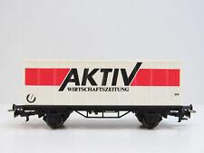 Containerwagen AKTIV Wirtschaftszeitung,Märklin HO,4481.95712,SoMo,HB