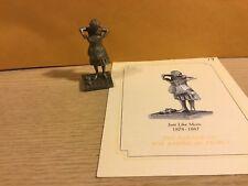 Saturday Evening Post Franklin Mint Pewter Figurine Just Like Mom