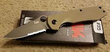 Benchmade H&K Heckler & Koch Flak Knife Sand Assisted Opening Combo Blade 14141