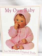 Lee Middleton 1997 ORIGINAL My Own BABY Color DOLL Newborn CATALOG with Artist