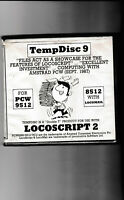 TEMPDISC 9 Programme For AMSTRAD PCW 9512 Computer