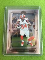 NICK CHUBB CHROME CARD Baker Mayfield 's RB CLEVELAND BROWNS SSP 2019 Legacy #25