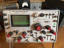 Vintage Tektronix 454 Oscilloscope 150 Mhz 2 Channels