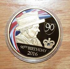 2016 Proof-Queen Elizabeth 90th Birthday Commemorative Coin