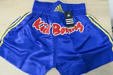 SHORT KICK BOXING ADIDAS BLEU