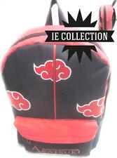 NARUTO AKATSUKI ZAINO SCUOLA sac bag borsa backpack alba shippuden itachi anime