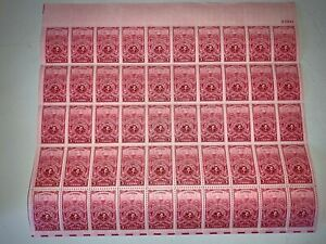 US Stamps SC# 979 American Turners 3c sheet of 50 MNH 1948