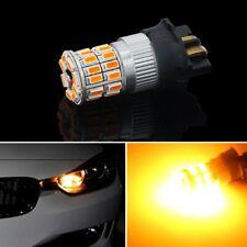 COPPIA PWY24W Indicator ARANCIONE Lights LED Bulbs CANBUS Orange  A3 PW24W