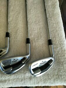 Callaway Apex Forged Irons 4-PW Steel -Used LH