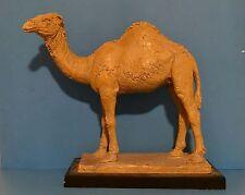 Austin Productions Inc. C1980 Stoneware ceramic statue of a Dromedary camel