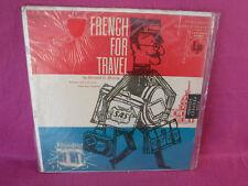 Howard G Harvey, French For Travel , Columbia ML 5086, 1955, SEALED, Educational
