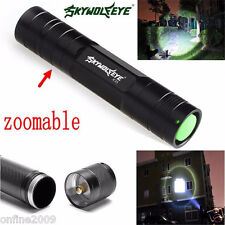 Sky Wolf Eye Mini 3500 Lumen 3 Modes CREE Q5 LED 18650 Torch Lamp Flashlight BK