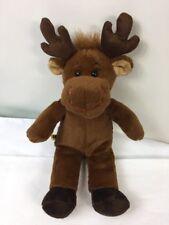 "Mini Build A Bear Plush Hal Moose Brown Stuffed Animal Toy 10"" Lovey"