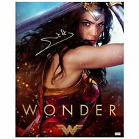 Gal Gadot Autographed Rare Wonder Woman 'Wonder' 16x20 Photo