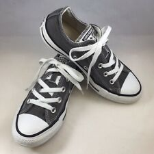 Converse Chuck Taylor All Star Low Top Style 5J794 Charcoal Sneakers Size 4/6