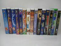 Vintage VHS Walt Disney & Family/ Kids Movie Lot of 15