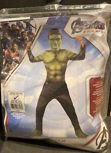Hulk Avengers Endgame Marvel Superhero Child Costume Size Large 12-14