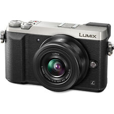 Panasonic Lumix DMC-GX85 Mirrorless Micro 4/3 Digital Camera - Silver w/12-32mm
