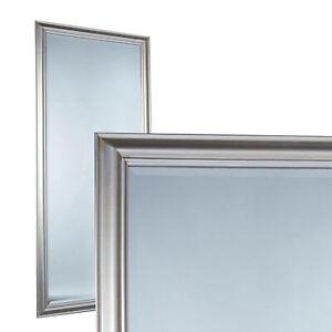 Spiegel Wandspiegel ca. 180 x 80 cm silber eleganter Landhaus-Stil Flurspiegel