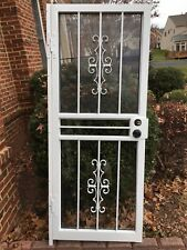 WEST TENNESSEE Designer Series 28x70.75 Security Storm Door, 115 Gibraltar, NEW!
