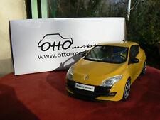 renault megane 3 rs jaune 1/18 1 18 1:18 otto ottomodels ottomobile boxed boité
