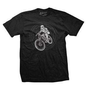 Dh Designs MTB Trooper Clothing T-shirt Dhd Mtb Trooper Seat Lg Blk