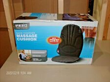Homedics back charger massage cushion with heat VC-100 NEW IN BOX