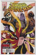 AMAZING SPIDER-MAN #695 | Vol. 1 | RARE Newsstand UPC Variant | 2012 | VF+