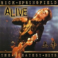 The Greatest Hits...Alive cd Rick Springfield  (2001 Hip-O) MINT OOP best of