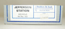 HO/Hon3, Builders In Scale Jefferson Station Kit #103