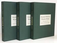 WINSLOW HOMER Catalogue Raisonne Vol 1 2 3 Record of Works Painter Printmaker HC
