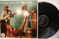 "Calypso In Hi-Fi - Dave Burgess And His Caribbeans , LP Vinyl 12""(VG)"