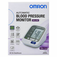Omron HEM-7130 Deluxe Upper-Arm Blood Pressure Monitor 5 Year AU/NZ Warranty