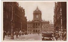 Town Hall & Castle Street, LIVERPOOL, Lancashire RP