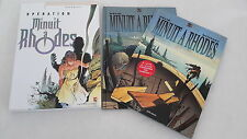 BEHE INTEGRALE OPERATION MINUIT A RHODES COFFRET 2 TOMES COMPLET TBE