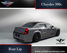 Chrysler 300c Rear Bumper Lip Conversion Rear Spoiler