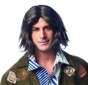 Shaggy Hippie Caveman Adult Costume Wig   Brown
