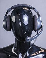 Clear Com CC 260 Double Ear Headset Mic Microphone Headphone 4 pin  #279