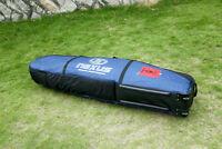 Double Surfboard bag Roller Wheels DOUBLE BOARD BAG Professional 220X55X20CM