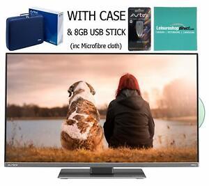 "Avtex L249DRS PRO 24"" 12v/24v TV with Case, 8GB USB stick & microfibre cloth"