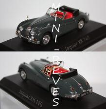 Norev Jaguar XK140 Cabriolet 1957 vert 1/43 270032