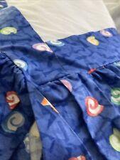 Custom Made Luxury Full Multicolored Bed Skirt 76�X 57� Drop 19� Professionally