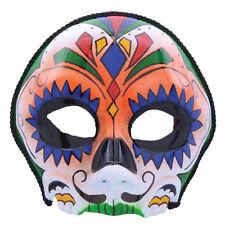 Azúcar Calavera Día de los muertos Máscara Halloween Vestido de fantasía mexicano Mardi Gras